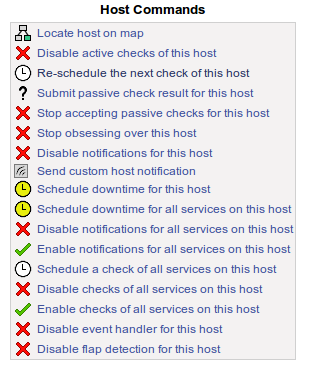 Host Commands