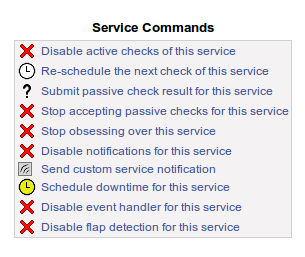Service Commands